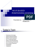 WiFi Positioning System ppt