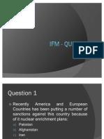 IFM - Quiz