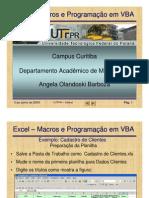 Cadastro de Clientes - VBA e Macros