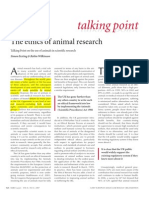 Ethics of Animal Research