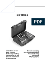 Skf Tmeb2 Alineador Poleas Laser Manual Uso