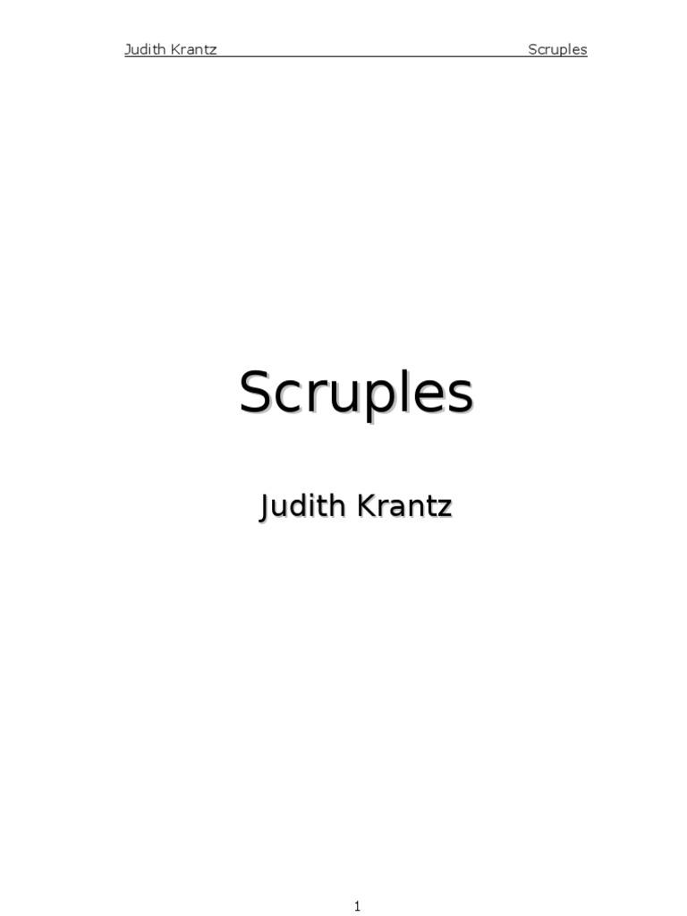 Krantz Judith - Scruples