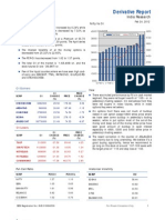Derivatives Report 24th February 2012
