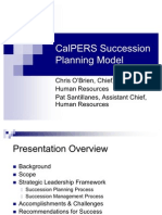 Calpers Succession Planning
