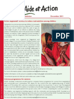 AEAI-South Asia December 2011 News Letter