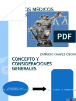ASPECTOS MÉDICOS LEGALES