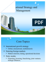 BEC-DOMS PPT on International Strategy and Management
