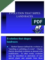 Lec4 Evolutionary Forces That Shapes Land Races