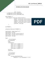 Interfacing Programs