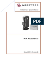Woodward PGPL Actuator-Driver - 37519