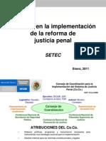 Avances en La Implem Del Nvo Sist de Just Penal,Pres_25!1!11