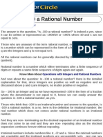Is -100 a Rational Number