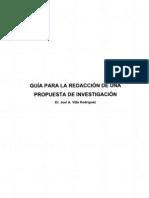 Guia Redaccion Propuesta Investigacion