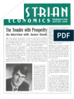 Austrian Economics Newsletter Winter 1996