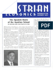 Austrian Economics Newsletter Summer 1997