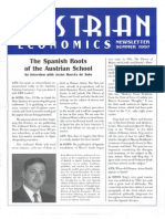 Austrian Economics Newsletter Summer 1997