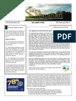 RCBKS Bulletin Vol 20 No 25
