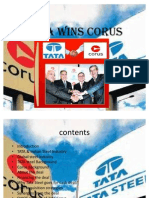 Tata Wins Corus