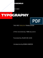 Tschichold Jan The New Typography Eng