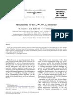 M. Joyeux, D.A. Sadovskii and J. Tennyson- Monodromy of the LiNC/NCLi molecule
