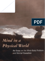 Jaegwon Kim, Mind in a Physical World