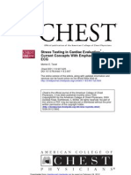 Stress Testing in Cardiac Evaluation