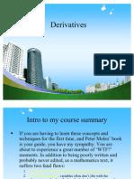 Derivatives Ppt @ Mab Finance