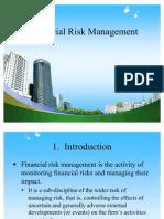 Financial Risk Management Ppt @ Mba Finance