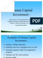 Human Capital Investment .Ppt @ Bec Doms