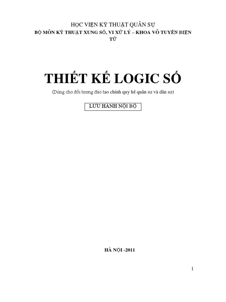 Thiet Ke Logic So
