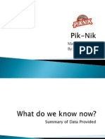 AGORA Pik-Nik Presentation