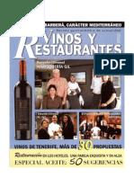 Vinos y restaurantes | Mayo 2007