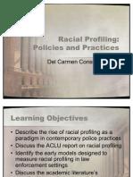 Racial profiling essays