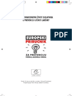 Evropski priručnik za prevenciju aklohola, droga i pušenja - Handbook Prevention; Alcohol, Drugs and Tobacco
