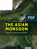 The Asian Monsoon - Causes, History and Effects - P. Clift, A. Plumb Cambridge, 2008) WW_0521847990