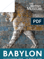 Babylon an Exhibition at the British Museum