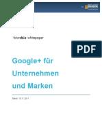 Google+ für Unternehmen und Marken