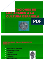 APORTACIONES DE LOS ÁRABES A LA CULTURA ESPAÑOLA