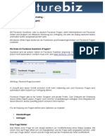 White Paper Facebook Questions (Fragen)