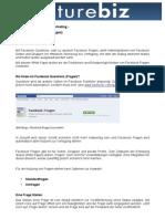 White Paper Facebook Questions (Fragen)