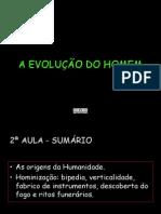 B - A EVOLUÇÃO DO HOMEM