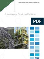 WEG Solucoes Para Estruturas Metalicas 50021444 Catalogo Portugues Br