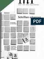 Typographie - Schriften erkennen