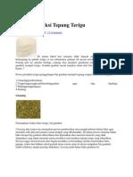 Proses Produksi Tepung
