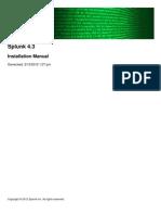 Splunk 4.3 Installation