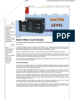 Silicon Chip Online - Build a Water Level Indicator