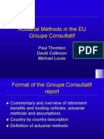 Actuarial Methods Slides