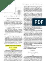 D.L n.º 24-2012 (Agentes Quimicos)