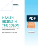 Health Begins in the Colon[1]