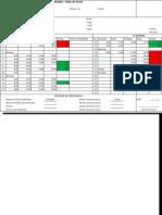Modelo Folha de Ponto - Excel